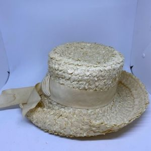 Vintage Union Made Cream Hat